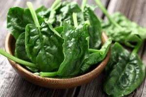 Spinach calories