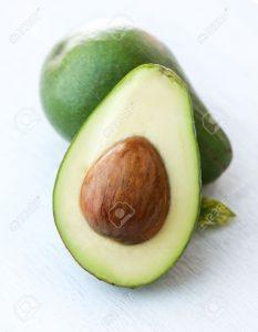 avocado fiber content