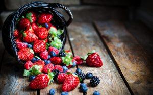 berries fiber