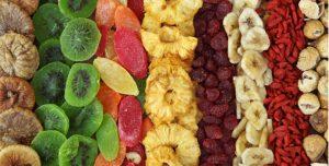 dried fruits fiber