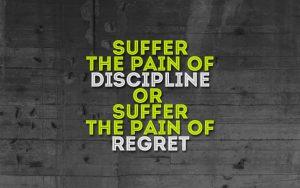 exercise discipline