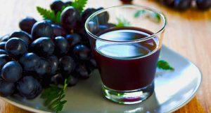 grape juice for constipation