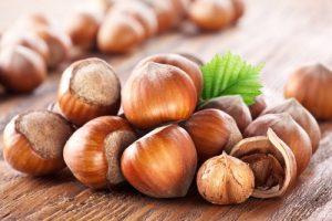 hazelnuts fiber
