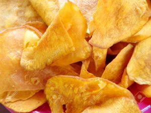 sweet potato chips snack