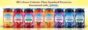 low calorie fruit jam