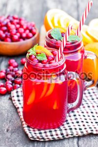 homemade fruit juices