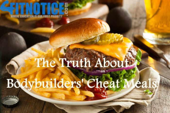 The Truth About Bodybuilders' Cheat Meals