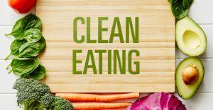 تنظيف كمال الأجسام الأكل