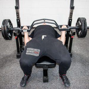 bench press range of motion